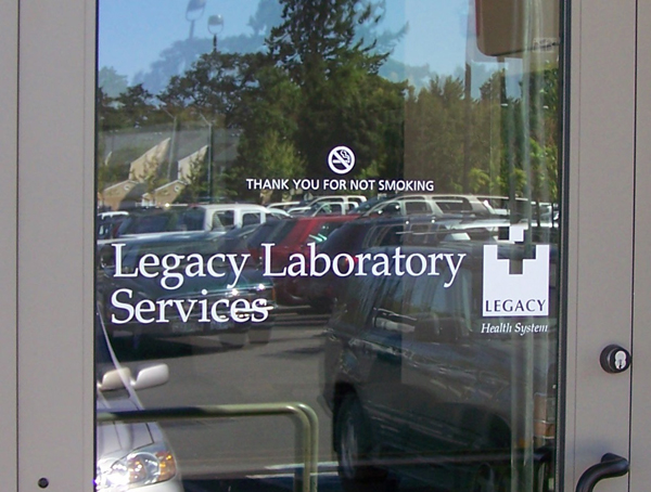 Legacy Laboratory Window