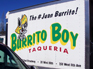 Burrito Boy Box Van