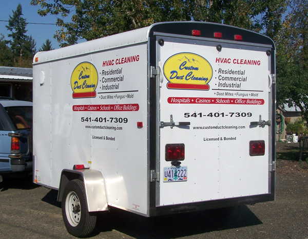 Custom Duct Cleaning Trailer